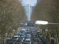 En Allemagne, toujours plus de voitures en ville