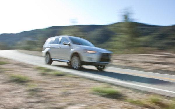 New York 2009 : Mitsubishi Outlander GT Prototype, du flou dans la com'
