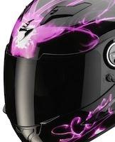 Nouveauté 2012: du rose pour le Scorpion Exo-500 Air Ardent