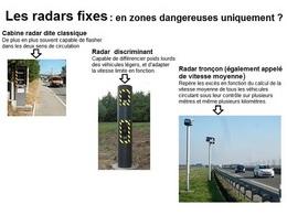 Pour la Sécurité routière, aucun radar n'est installé pour rapporter de l'argent à l'Etat (+ vidéo)
