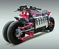 "Version ""hard Discount"" de la Dodge Tomahawk ... : K-007 TRON BIKE"