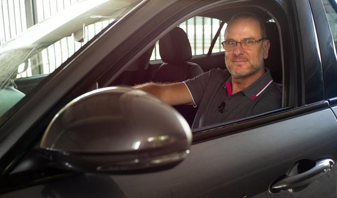L'auto des voisins - Son Alfa Romeo Giulia, Hervé, la préfère en diesel plutôt qu'en essence