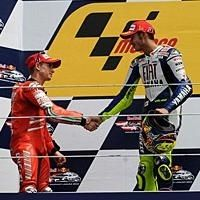 Moto GP - République Tchèque: La paix en coulisse entre Rossi et Stoner
