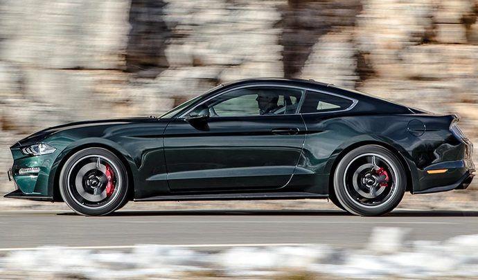 Ford Mustang Bullitt : à partir de 54 900 €
