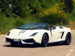 Fifth Gear : Tiff Needell fait hurler la Lamborghini Gallardo LP570-4 Spyder Performante sur les hauteurs de Nice