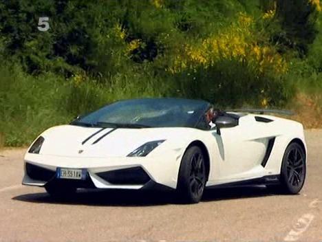 Fifth Gear : Tiff Needell fait hurler la Lamborghini Gallardo LP570-4 Spyder Performante sur les hauteurs de Nice