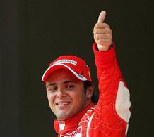 Massa chez Ferrari jusqu'en 2010