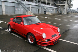 Photos du jour : Porsche 911 (RSR ?)