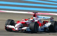 Ferrari et Toyota en piste au Paul Ricard