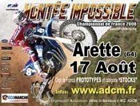 La montée impossible d'Arête Pierre St Martin
