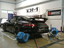 Porsche 997 GT2 DM Performance : 619 chevaux au banc