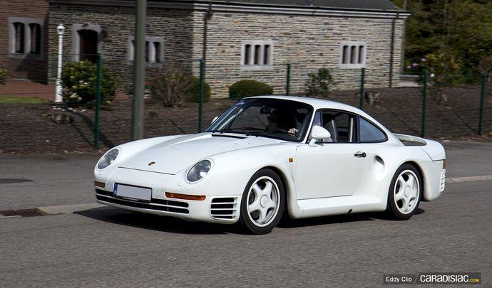 Photos du jour : Porsche 959