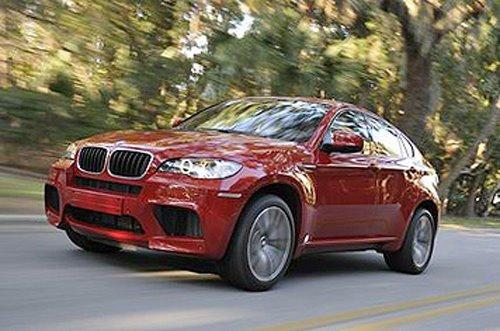 New York 2009 : BMW X6M, trop rapide pour la com'