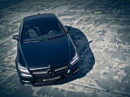 Mercedes CLS Edition Black par Kicherer : so(m)bre
