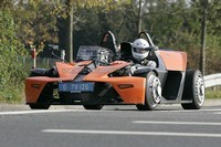 Future KTM X-Bow en test sur le Ring' !