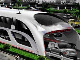 Le bus de demain sera suffisamment grand pour rouler au-dessus des voitures