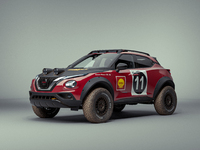 Nissan fête la victoire de la 240Z en rallye raid avec le Juke
