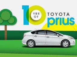 Pour fêter les 10 ans de la Prius, Toyota recherche son plus grand fan