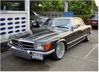 La saucisse du Vendredi : Mercedes SL Japan'Style