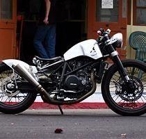 Concept - KTM: Le 690 mono se fait aussi Bobber