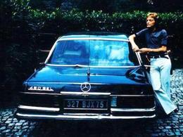 La Mercedes 450 SEL de Claude François à vendre