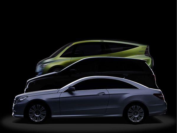 Future Mercedes Classe B : dévoilée en partie