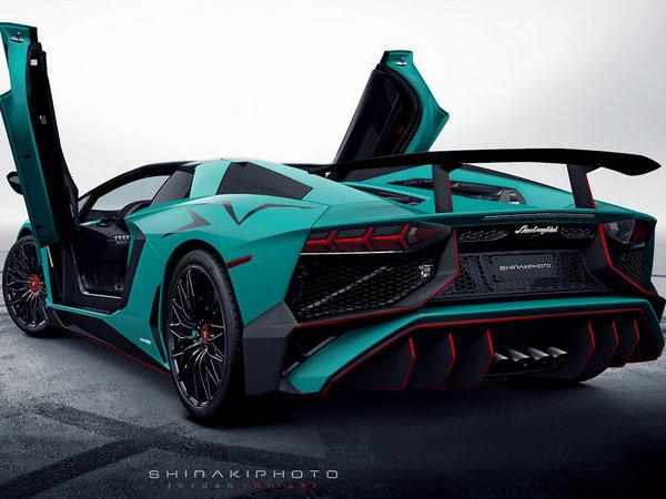 Voici la Lamborghini Aventador Super Veloce Roadster