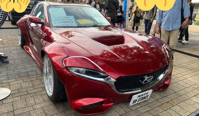 Une Mazda RX-8 transformée en RX-Vision Concept