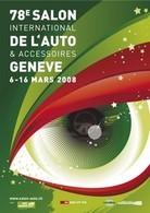 L'affiche du 78ème Salon de Genève