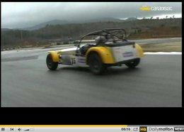 Vidéo : PaNic à bord de la Caterham Cup 2009 150 ch