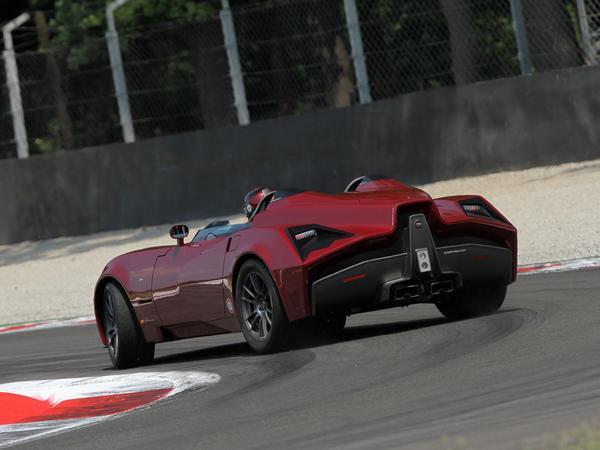 Spada Codatronca Monza: le plein de photos pour un véhicule pas si unique que ça...