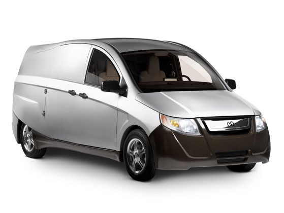futur utilitaire hybride rechargeable idea le fruit du partenariat entre bright automotive et. Black Bedroom Furniture Sets. Home Design Ideas