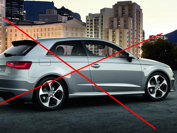 Future Audi A3 : en cinq portes uniquement