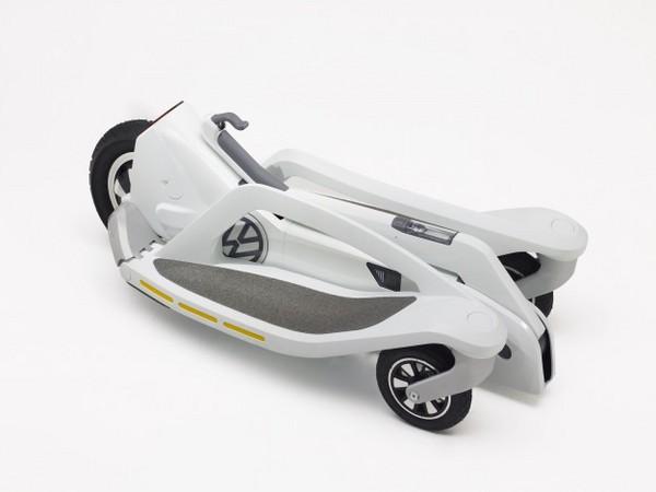 Volkswagen va lancer un scooter électrique à trois roues