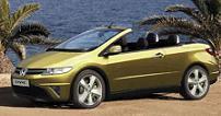 Il y aurait une Honda Civic Cabriolet !?