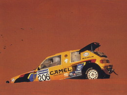 Peugeot au Dakar 2015 avec Peterhansel.