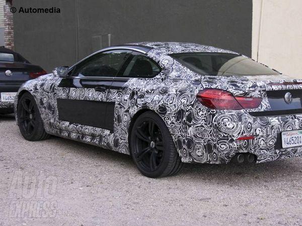 Les futures BMW M6 Coupé et Cabriolet surprises ensemble