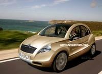 Future Citroën 2CV by Infomotori