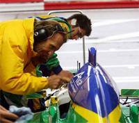 A1 GP: Emerson Fittipaldi testera la nouvelle auto à moteur Ferrari
