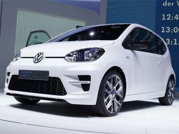 Volkswagen va commercialiser la Up! GT en 2013