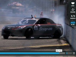 Mazda RX-8 BMI Racing quadrirotor : en action à Seattle