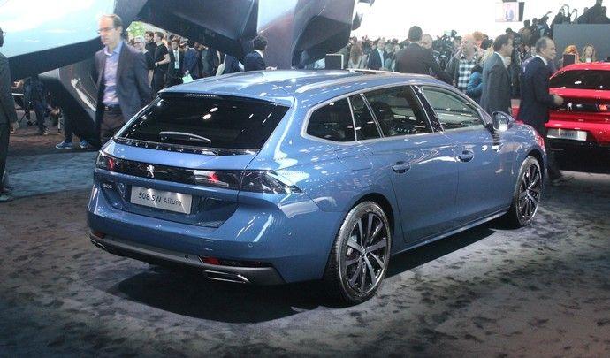 Peugeot 508 SW : break de charme - Video en direct du Mondial de Paris 2018