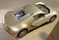 Trop vulgaire la Veyron ? Peignez-la en or !