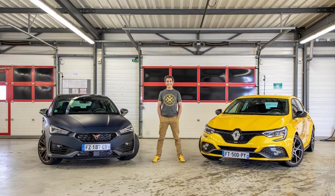 Comparatif vidéo - Les essais de Soheil Ayari : Cupra Leon VS Renault Megane RS