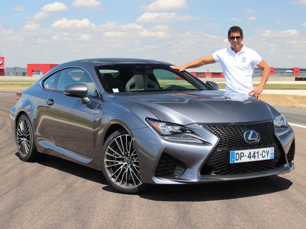 """Les essais de Soheil Ayari: Lexus RC-F : """"Plus GT que vraie sportive"""""""