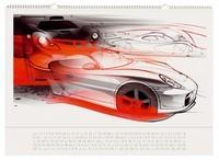 Calendrier 2008 : une année en Porsche