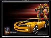Chevrolet Camaro Bumblebee et Peterbilt 379 Optimus Prime