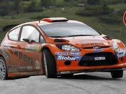Ford teste sa Fiesta WRC
