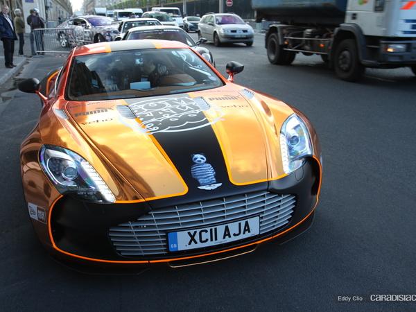 Photos du jour : Aston Martin One-77 (Gumball)