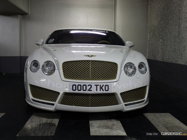 Photos du jour : Bentley Continental GT Mansory (Gumball)